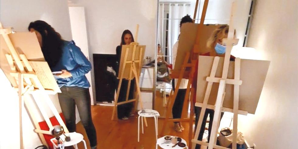 Atelier-Apéro ! Dessin avec modèle vivante :  Spécial Leonor Fini