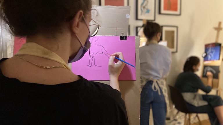 Atelier-Apéro : Autoportrait Autoportrait. Les femmes artistes cubistes