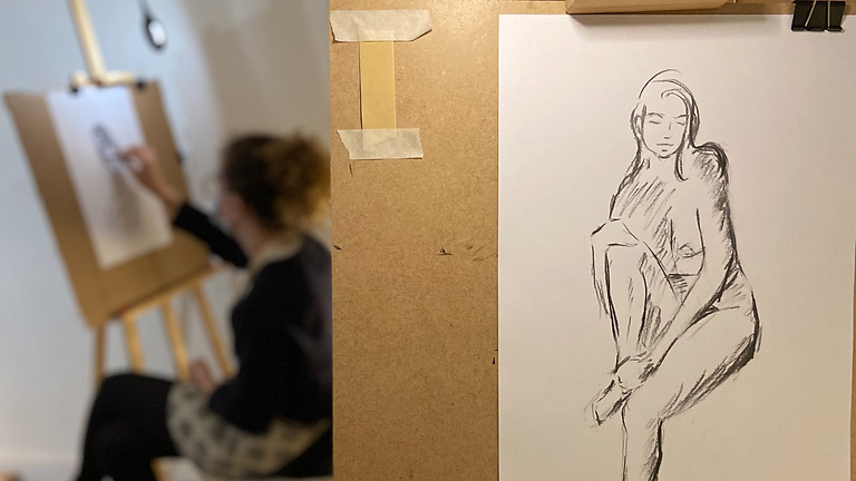 Viens faire tes cartes postales en aquarreles : Les femmes, l'Art Nouveau et l'Art déco