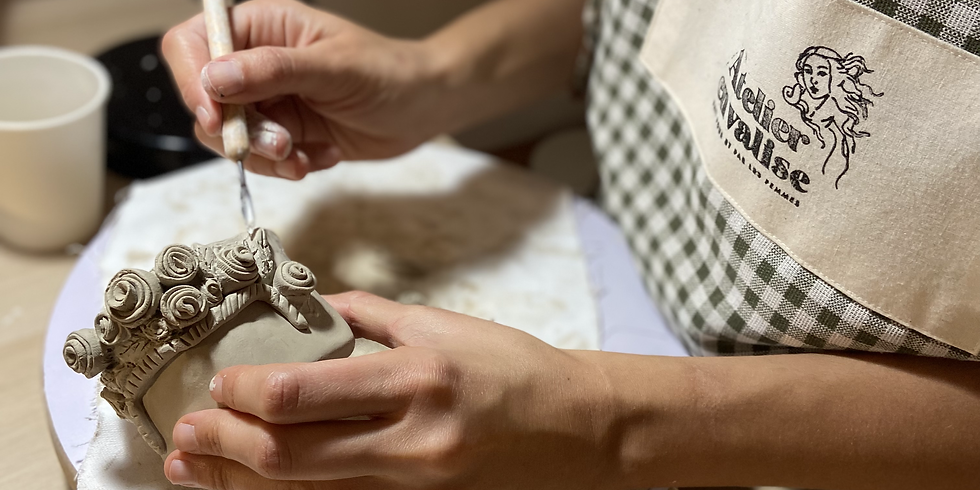Atelier découverte : Modelage en céramique. Spécial Frida Kahlo !