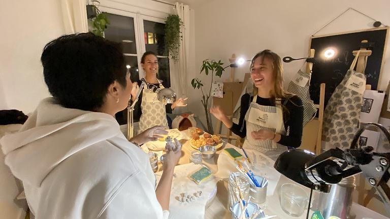 Bougies parfumées en pot de céramique : Spécial Sonia Delaunay !