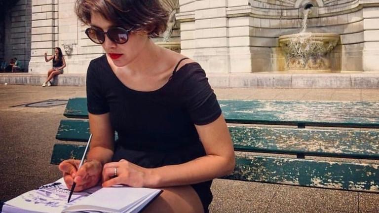 Visite guidée avec peinture en plein air à Montmartre !