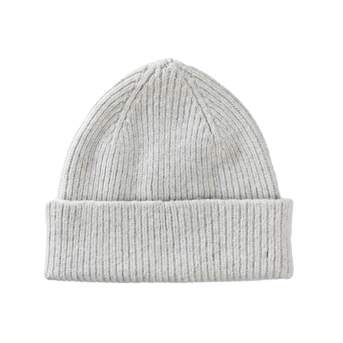Lambswool Beanie Silver