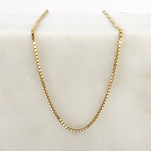 Venetian necklace gold