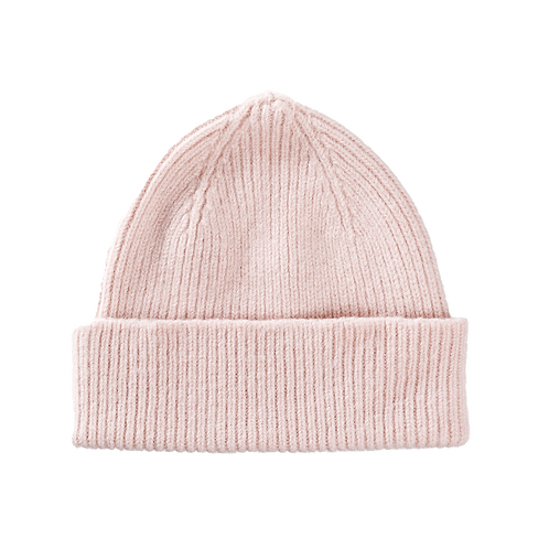 Lambswool Beanie Misty Rose