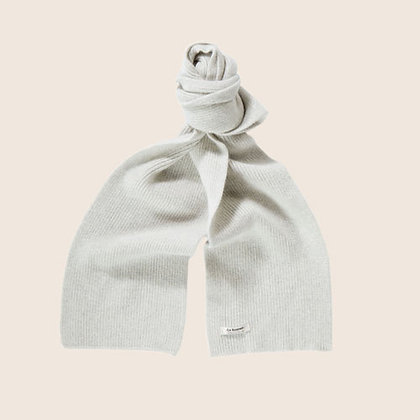 Lambswool Schal Silver