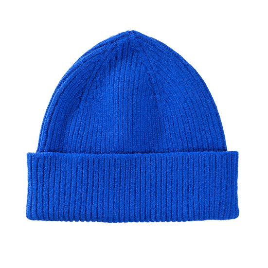 Lambswool Beanie Royal Azure