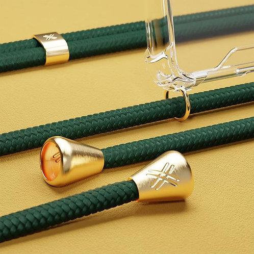 Emerald Phone Necklace