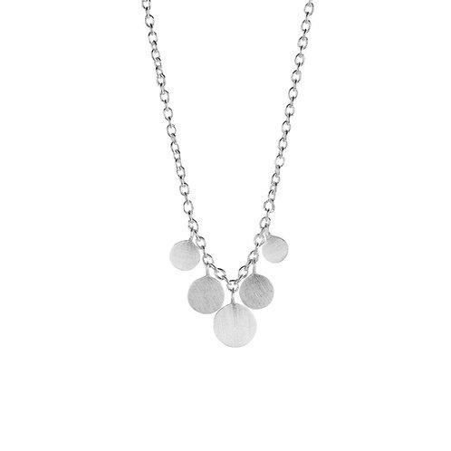 Silberne Halskette Minicoin