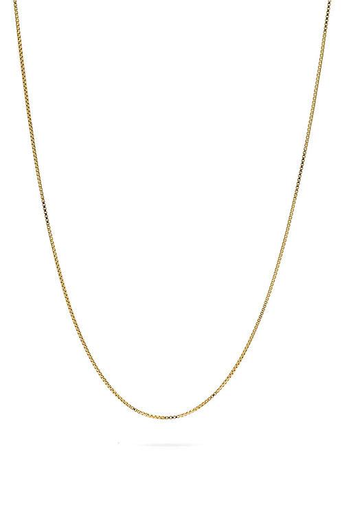 Smooth Halskette Gold