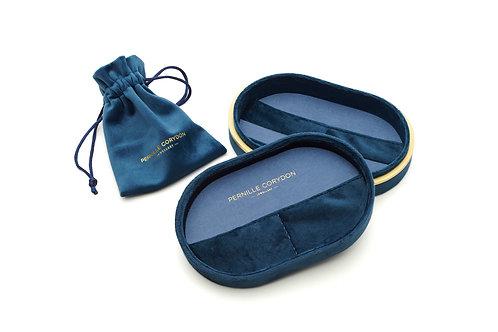 Treasure Box Velvet Blue