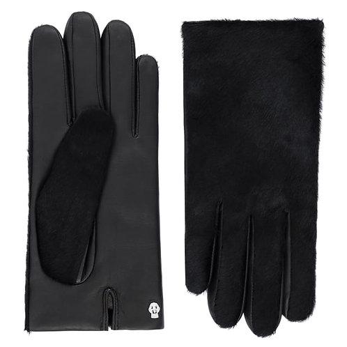 MANHATTAN Short/ Schwarz Lederhandschuhe