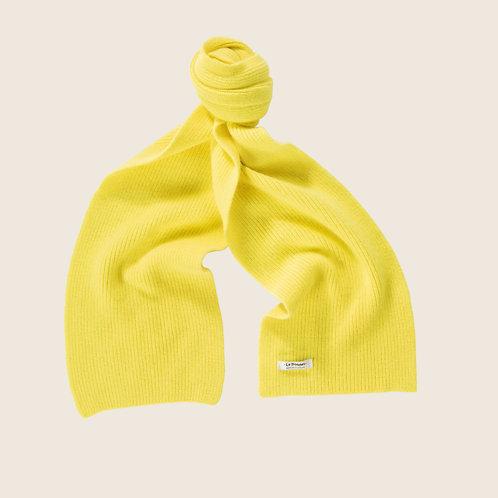 Lambswool Schal Acid Yellow