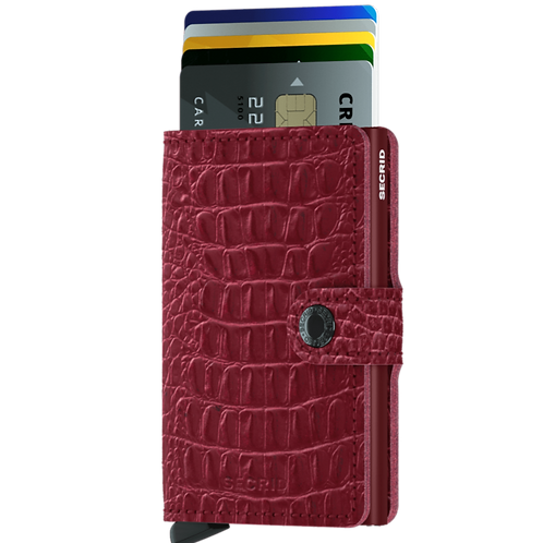 Miniwallet Nile Ruby RFID