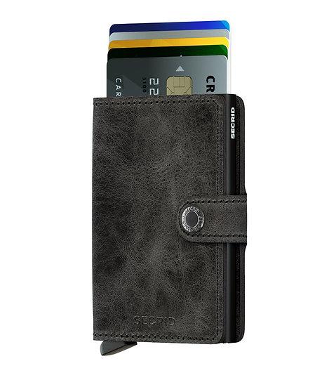Miniwallet Vintage Black RFID