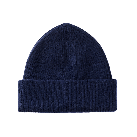 Lambswool Beanie Midnight