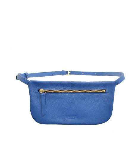 Leather Hip Bag Royal Blue