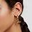 Thumbnail: Ivy Ohrringe Gold
