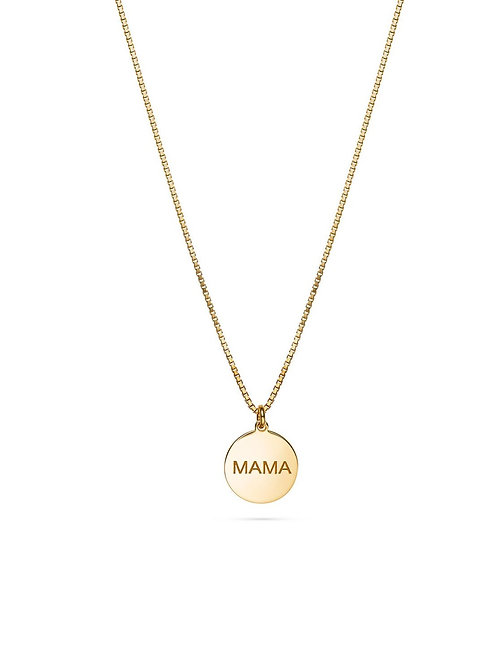 MAMA Halskette Gold