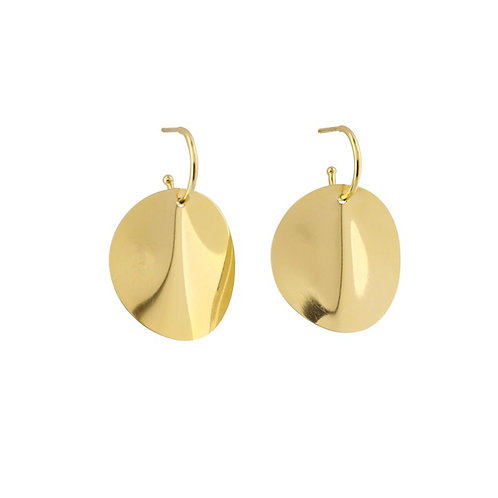 Große ONDE Ohrringe Gold