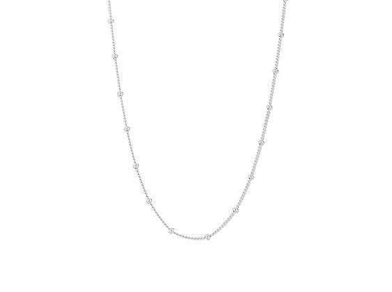 Solar Halskette Silber