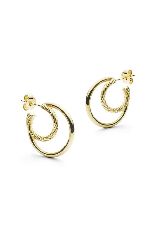 Ines Hoops Gold