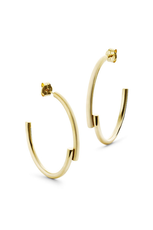 Coco Hoops Big Gold
