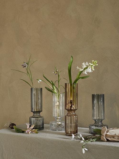 Hyacinth Glas Vase Smoked Pearl
