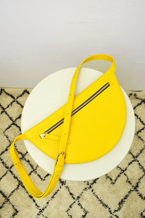 MOON HIP BAG XL Lemon