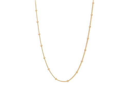 Solar Halskette Gold