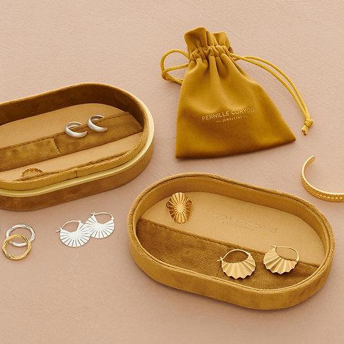 Treasure Box Velvet Gold