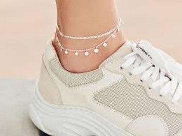 Sheen Anklet Fußkette Silber