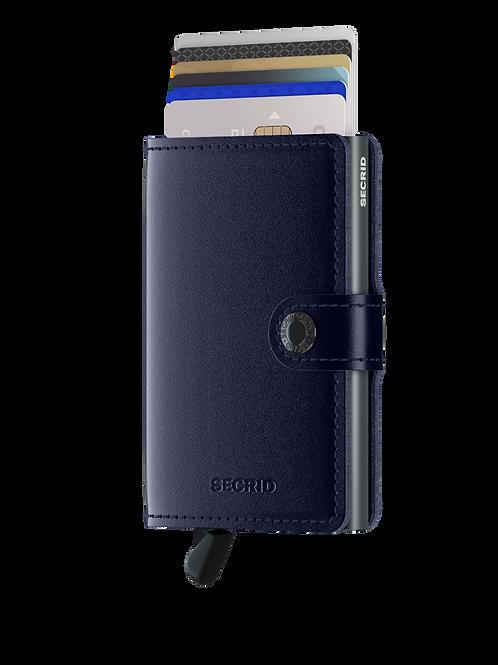 Miniwallet Metallic Blue RFID