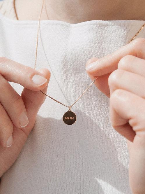 MOM Halskette Gold