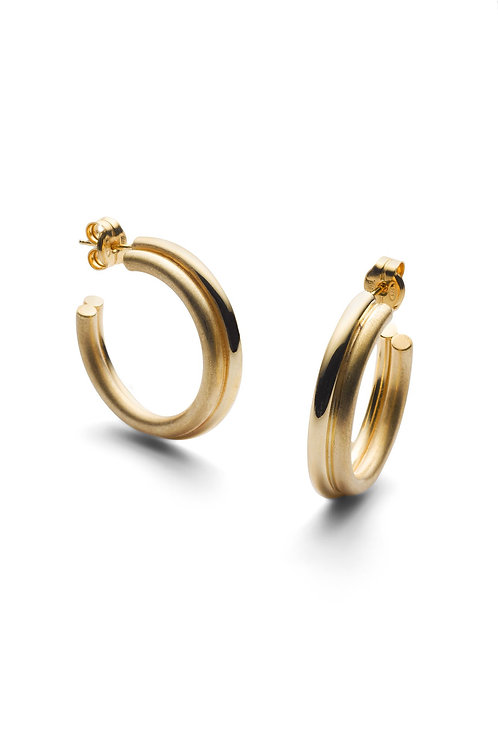 Icon Hoops Big Gold