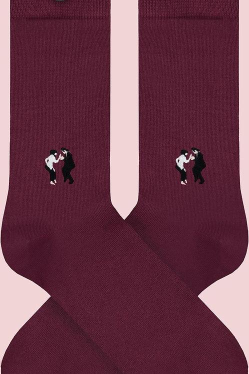 Socken aus Biobaumwolle Pulp Fiction WALLY