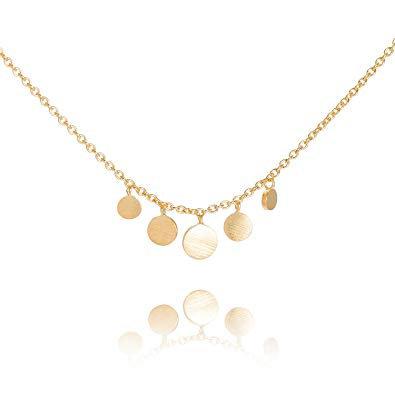 Goldene Halskette Minicoin