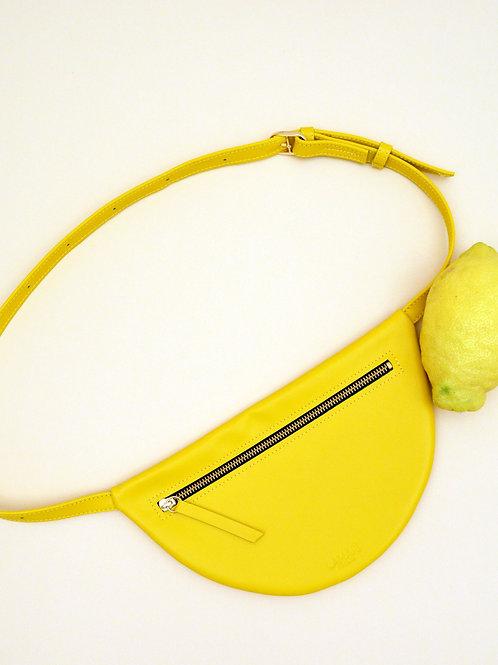 MOON HIP BAG XL Lemon