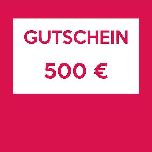 Gift Card 500 €