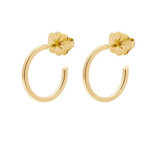 Small Hoop Earrings Gold