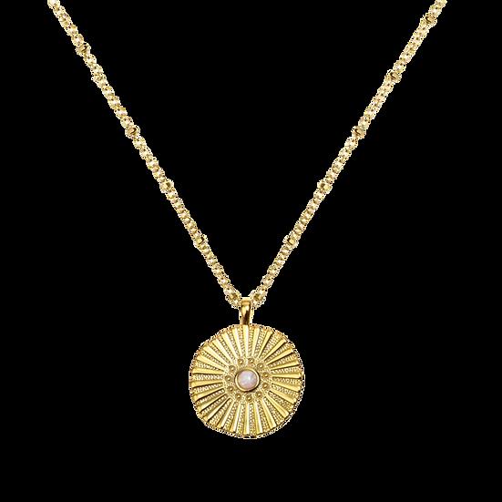 Silk Halskette Gold