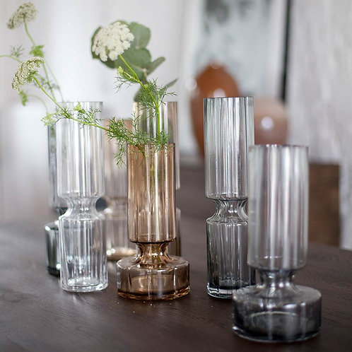Hyacinth Glas Vase Medium Clear