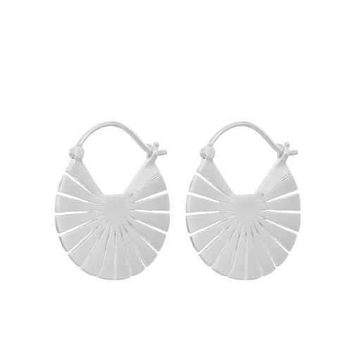 Flare Ohrringe Silber