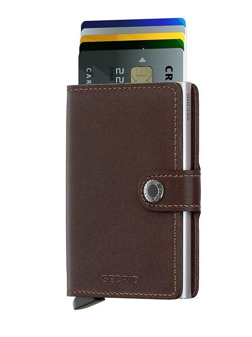 Miniwallet Original Dark Brown RFID