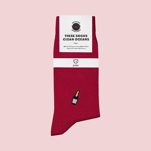 Socken aus Biobaumwolle ChampagnerCHARLIE