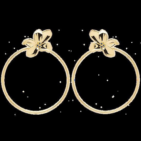 Blossom Ohrringe Gold