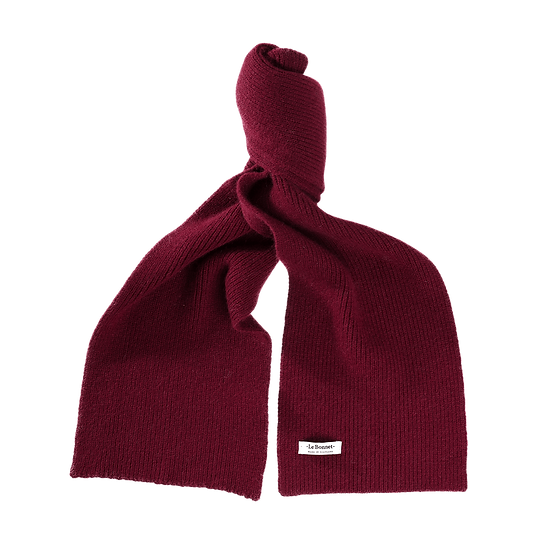 Lambswool Schal Wine