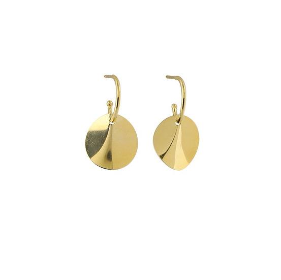 Kleine Ohrringe Gold ONDE