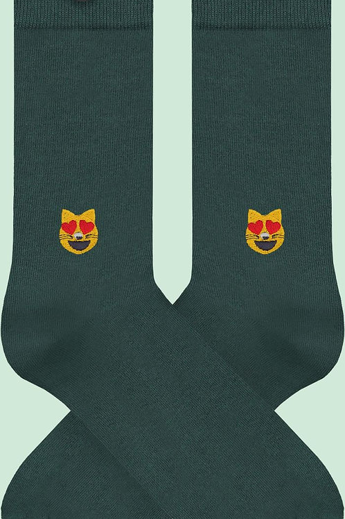 Socken aus Biobaumwolle Cat LIEVE