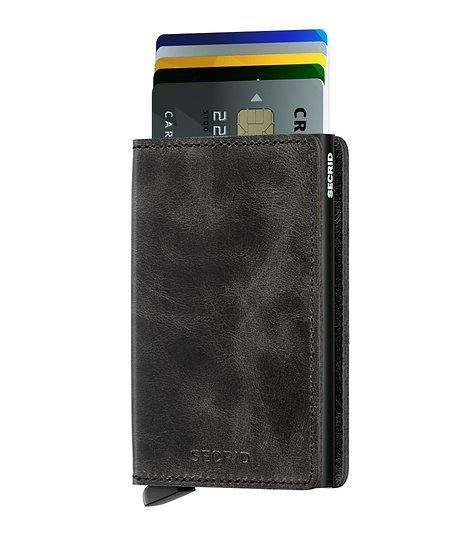 Slimwallet Vintage Black RFID